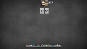 my half month desktop lol :D by chipocludo