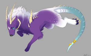 Art Trade: Omidra by xXNuclearXx