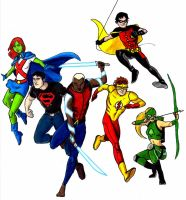 Young Justice by Mbecks14