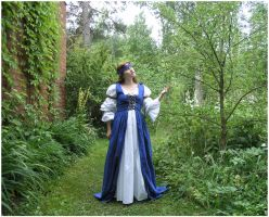 Lady In Blue I by Eirian-stock
