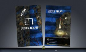 Business Card - Darren Nolan by pentatonic-ripper