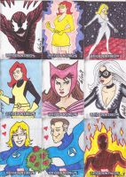 Marvel Beginnings Cards 1 by phymns