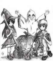 Happy Halloween! by Shell19