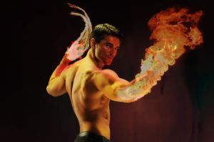 2# PS school work - FIRE BENDER by Narcissamadness