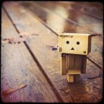 Danbo on a walk 2 by LadySleepsAlot