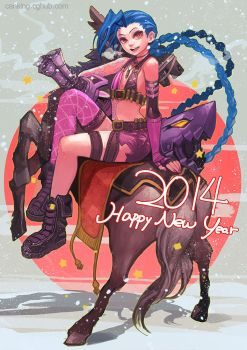 Jinx 2014 HAPPY NEW YEAR by CanKing