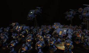 The Ultramarines by DeathShadowSun