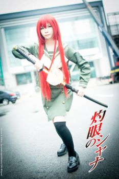 Shakugan no Shana-Shana by speedknight