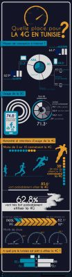 4G infography by marafet