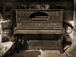 A Piano by GreenDanger