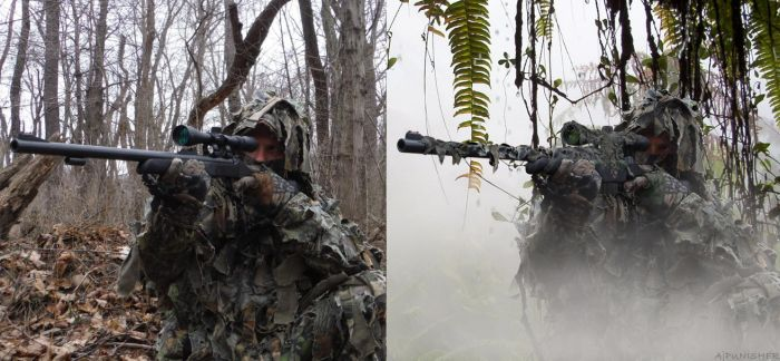 Sniper in the Mist: Before and After... by Ajpunisher