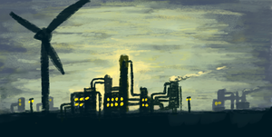 Refinery by Snashyle