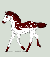 A1419 Foal Design Holder by Kaninkompis