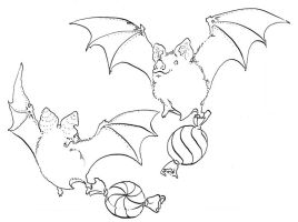 Candy Bats by Quilsnap