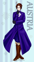 Hetalia - Austria by Tagami-Crown