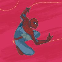 One more Spider Man by paulorocker