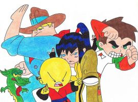 Xiaolin Showdown by EternASH