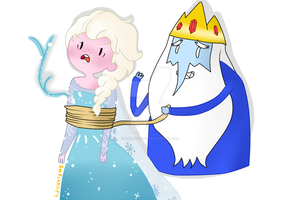 We are Soulmates (Elsa and the Ice King) by SofiArtsify