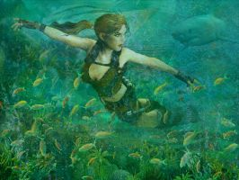 Aquatic Underworld Lara by KissBite