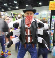 Six-Shooter Cosplay - Comikaze 2013 by ConMenWebSeries