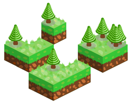 My first try on isometric graphics by VusCZ