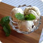 Mint Chocolate Chip Ice Cream by cake4thought