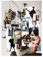 Agyness Deyn by blueflamingo
