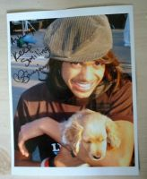Autographed Sanjaya Pic by Seattle-Storm