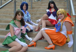 The Inner Senshi by Twin-Cosplay