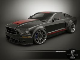 gt 500 black update by 3dmanipulasi