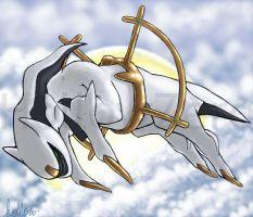 Arceus by hollowzero