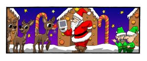 Santa and Energy Savings by Iggy452001