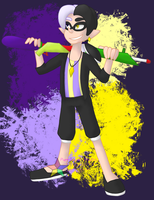 SPM: Inkling Dimentio by PuppyLuver