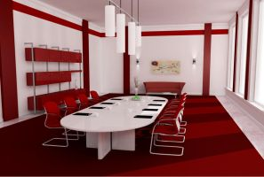 business room   - red by zigshot82