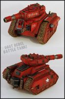 Grot Rebel Battle Tank by Proiteus