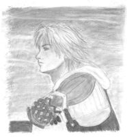 Tidus with strange arms by oryza