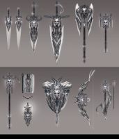 Vanitas Weapon Set by Harpiya