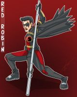 Red Robin by Sotalean