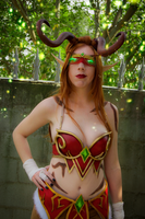 Blood elf demon hunter from World of Warcraft by jankeroodman