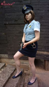 Jill Valentine RE3 Police Officer cosplay I by Rejiclad