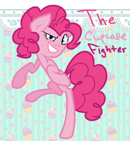 The Cupcake Fighter by chocoqueen112