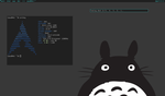 Arch Linux + dwm by pwuerrer