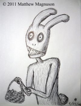 Easter Bunny 2 by PigsCanFly2day