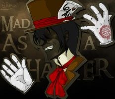 Fan Art - Mad as a Hatter by ladytempest