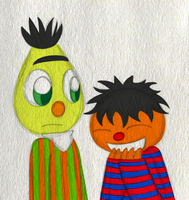 Bert and Ernie by PuccaFanGirl