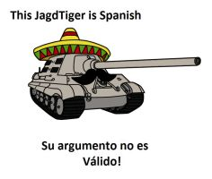 This Jagdtiger is Spanish by DeSynchronizer