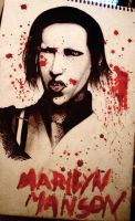 Marilyn Manson by tyller16