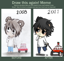 Meme: Before and After L by devianita