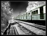Infrared Train by fatihkilic