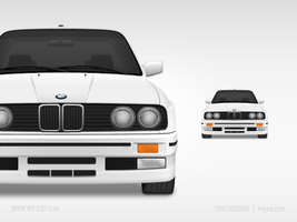 Icon-BMW M3 E30 by hehedavid
